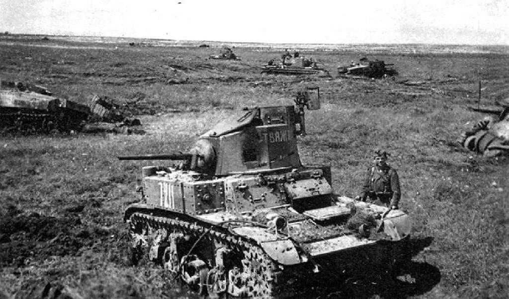 192-я танковая бригада 5 июля 1942 г. Болхов