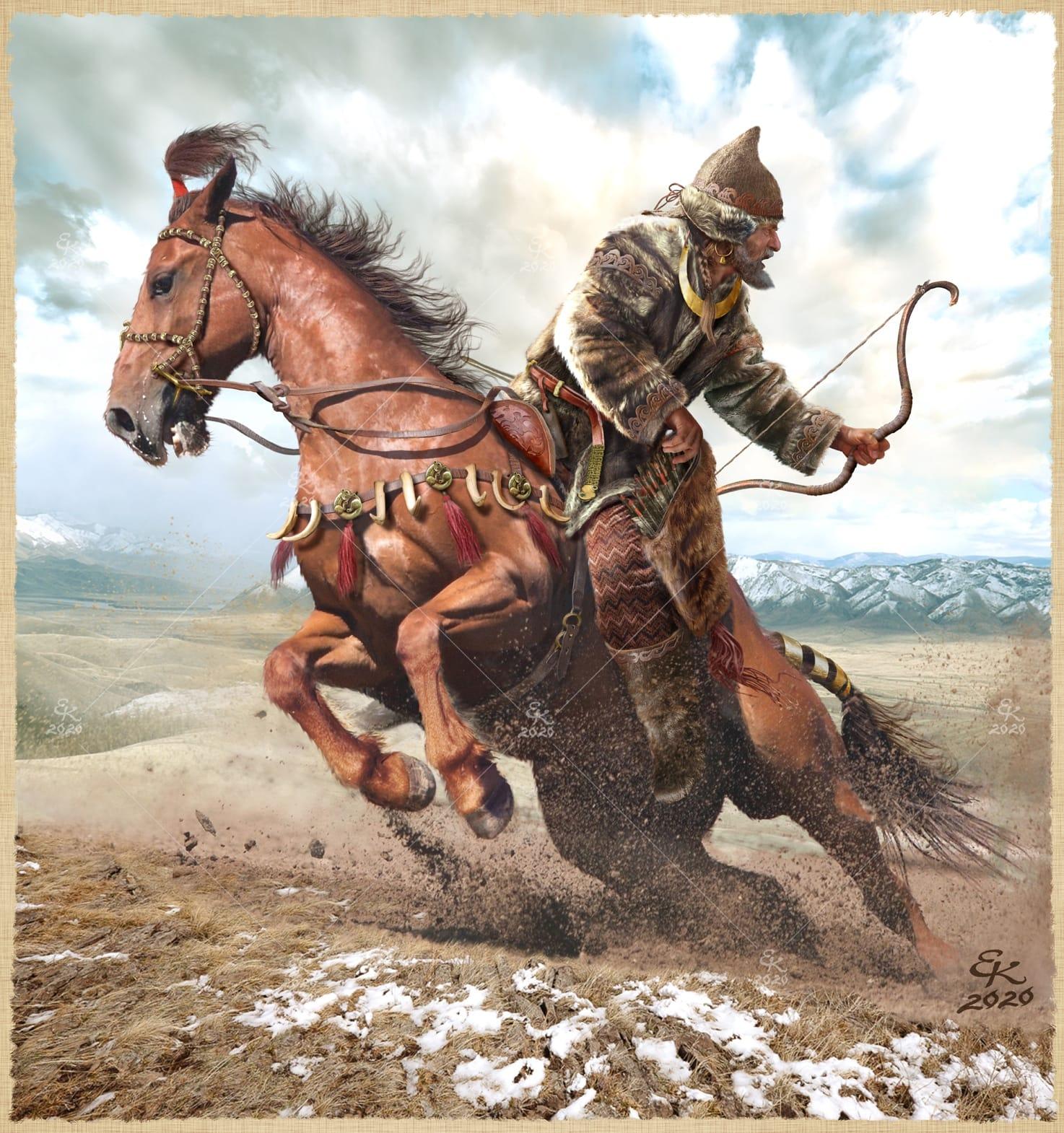 Евгений Край. Скиф. Алтай. VIII-VII век до н.э.