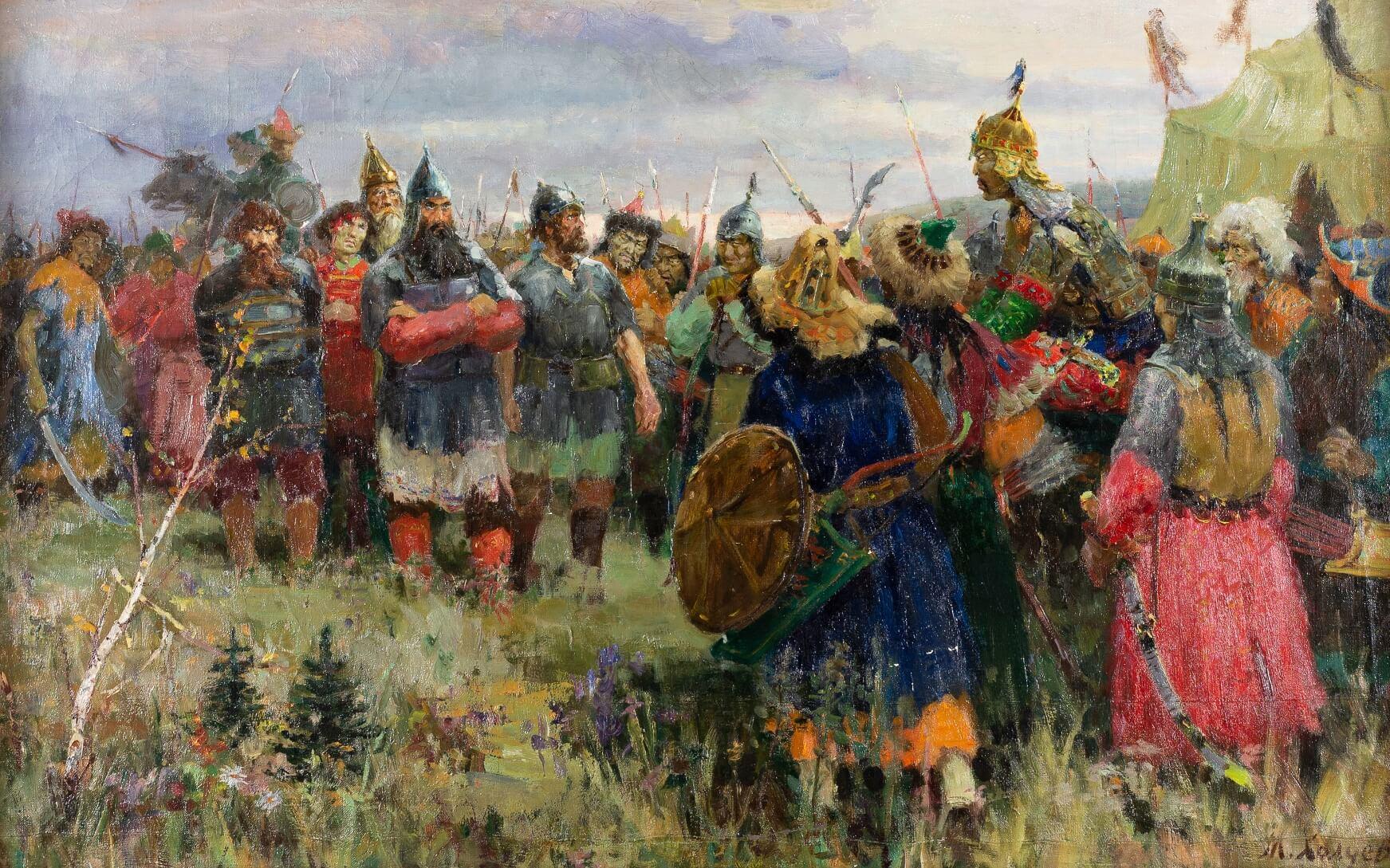 М. Ф. Холуев Русские в татарском стане
