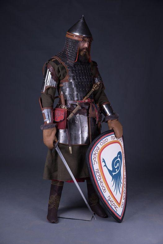 Воин старшей дружины белозерских князей ( 1380 год, Куликовская битва)