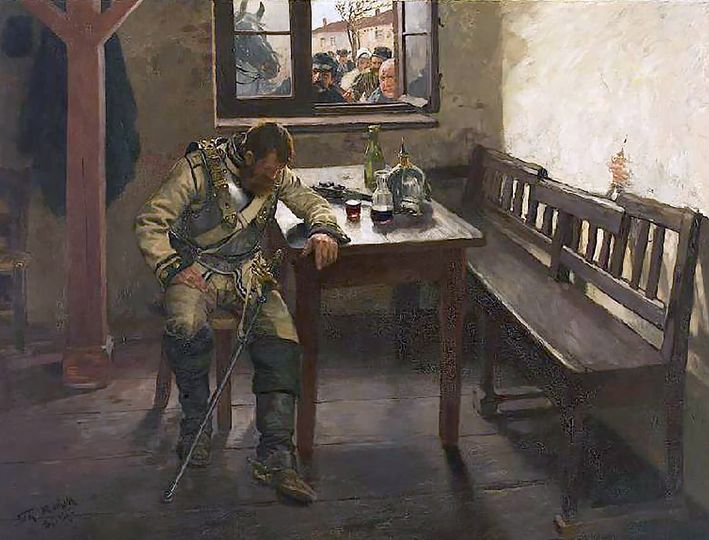 Theodor Rocholl (1854-1933) На вражеской территории