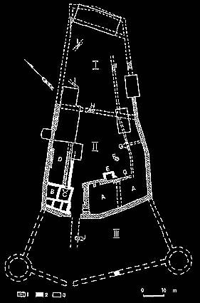 план замка Вольмар