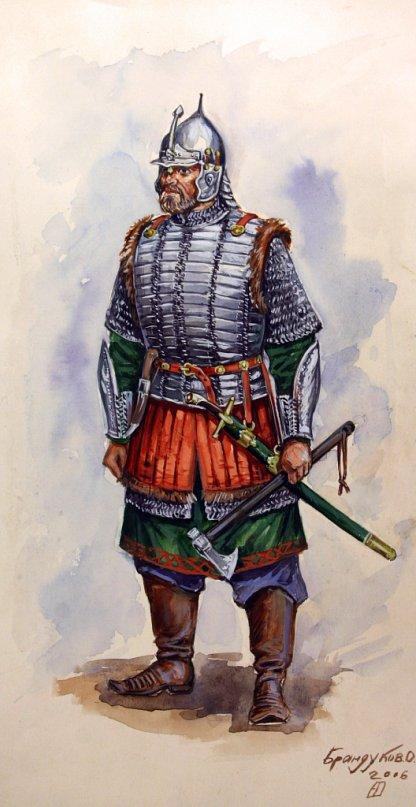 Около этого времени царский воевода князь ю а