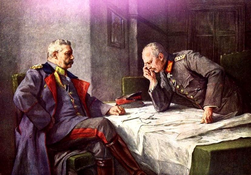 Гинденбург и Людендорф