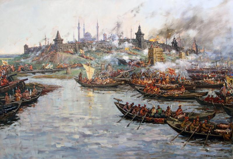Петров-Маслаков М.В. Осада русскими войсками Казани.1552 г.