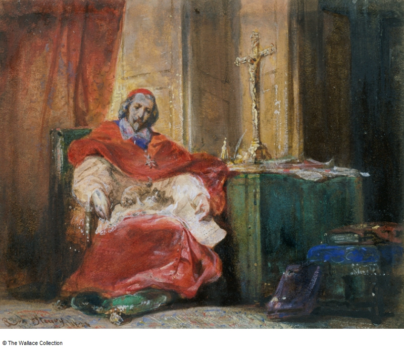 Joseph-Nicolas Robert-Fleury 1834