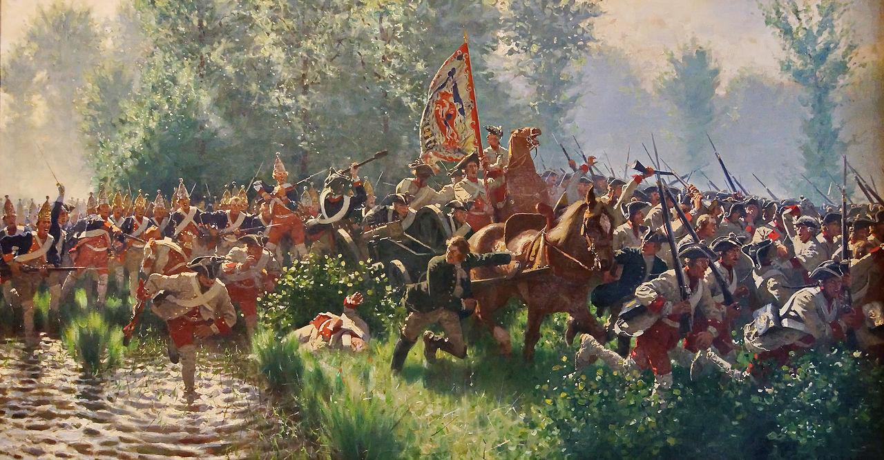 Preußische_Grenadier-Bataillone_schlagen_die_Sachsische_Garde