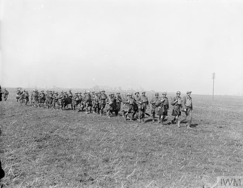 Gordon Highlanders март 1918