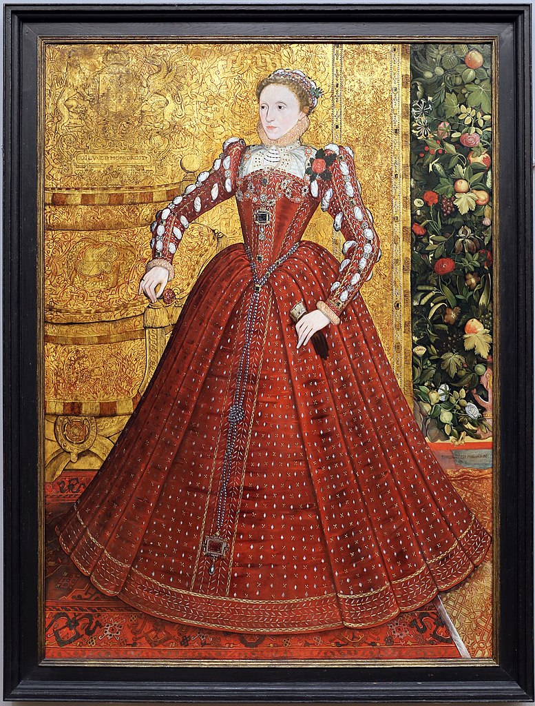 4. Стевен ван дер Мелен. Портрет королевы Елизаветы. 1563 г.
