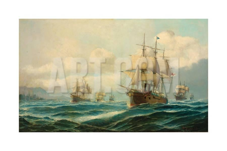 vice-admiral-phipps-hornby-s-squadron-steaming-through-the-dardanelles-on-passage-to_u-l-plovt20