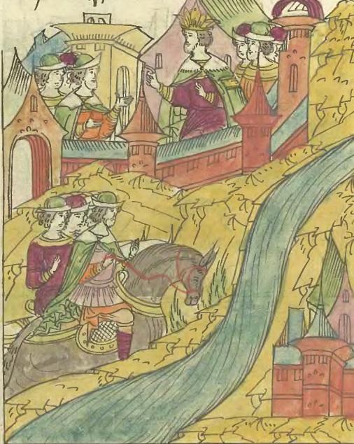 Иван Грозный отпускает Вишневецкого на Дон. 1559 г.