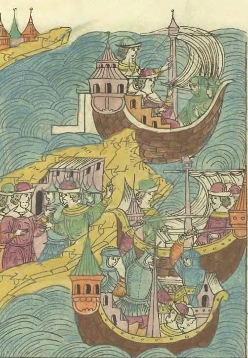 Морской поход Данилы Адашева. 1559 г.