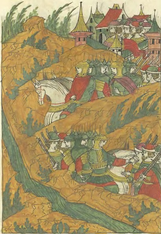 Поход ногаев и казаков на заднепровские крымские улусы. 1559 г.