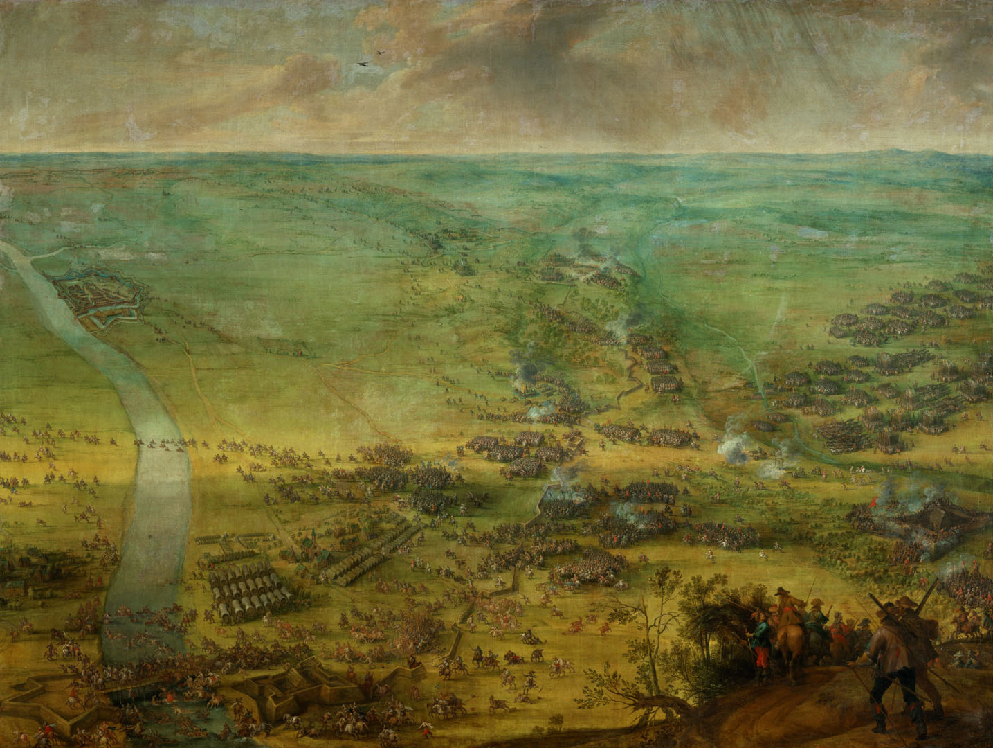 Peter_Snayers_-_The_battle_for_the_relief_of_Thionville._1st_Phase,_1639