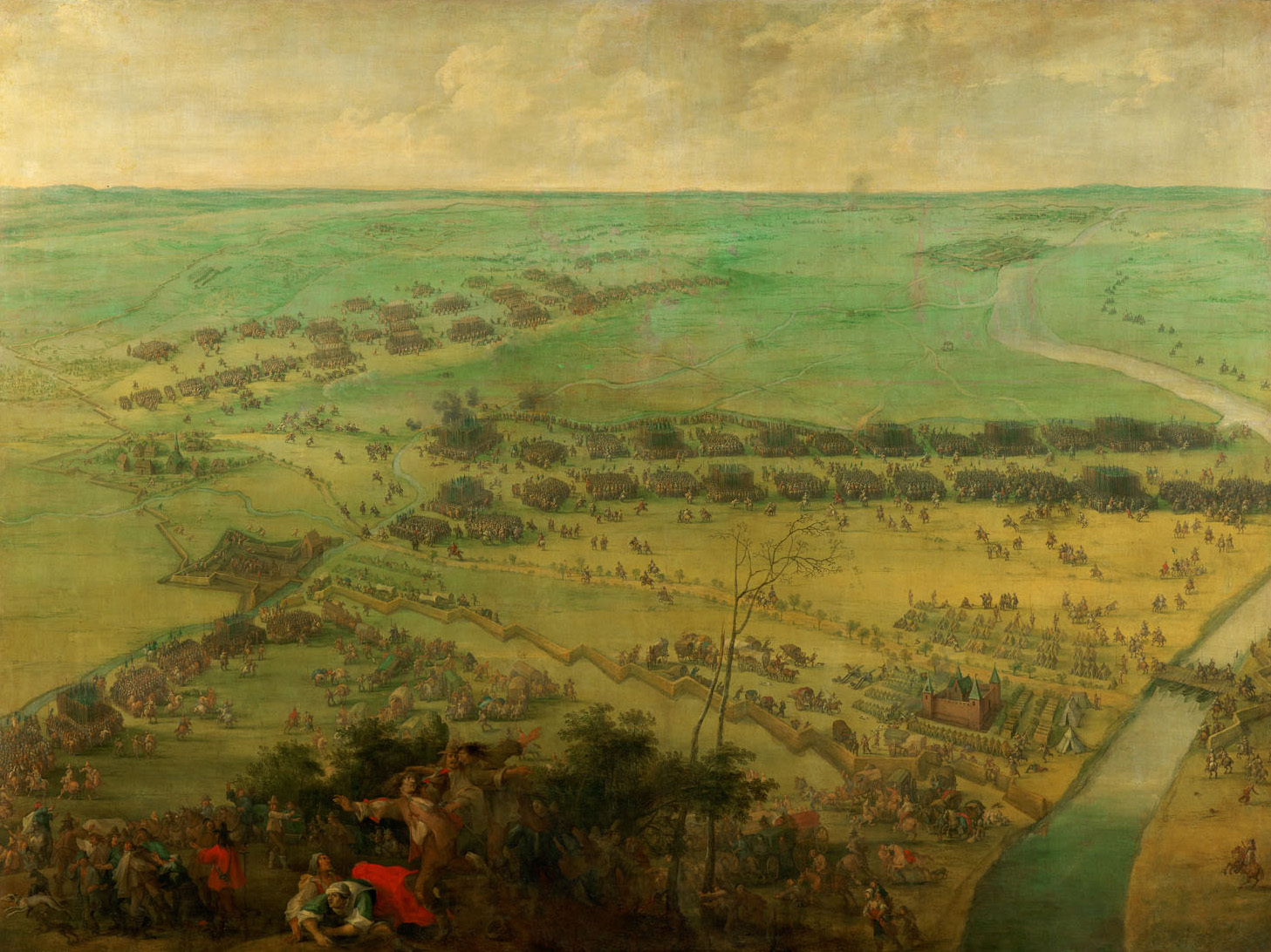 Peter_Snayers_-_The_battle_for_the_relief_of_Thionville._2nd_Phase,_1639