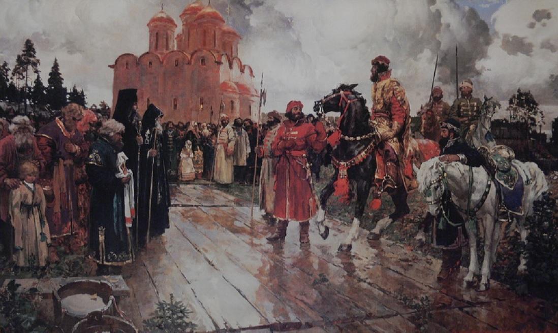 Иван Грозный в Вологде