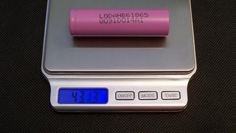 Li-ion 18650 LG HB4 LG HB6 capacity test