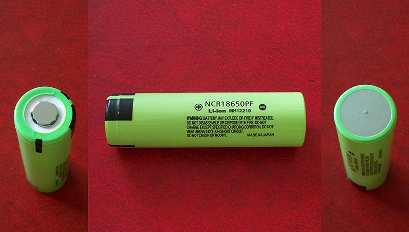 Li-ion 18650 Panasonic NCR18650PF LG MG1 2900mAh 10A capacity test