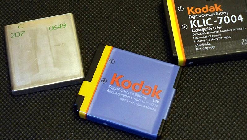 NP-50A Kodak KLIC-7004 D-Li122 Fuji NP-50 2 Batterie li-ion Pentax D-Li68