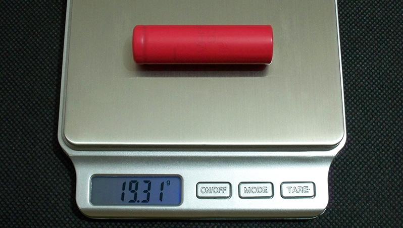 SANYO UR14500P 14500 AA-size Li-ion battery's capacity test