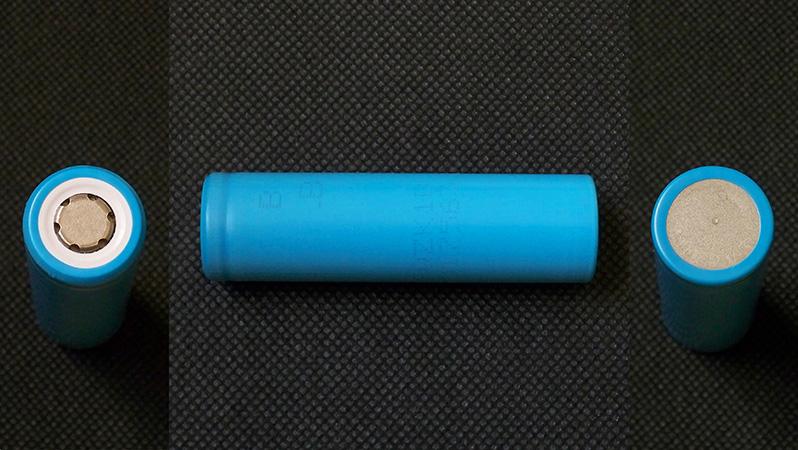 Sanyo UR18650ZK 2500mAh 18650 Li-ion battery cell capacity test