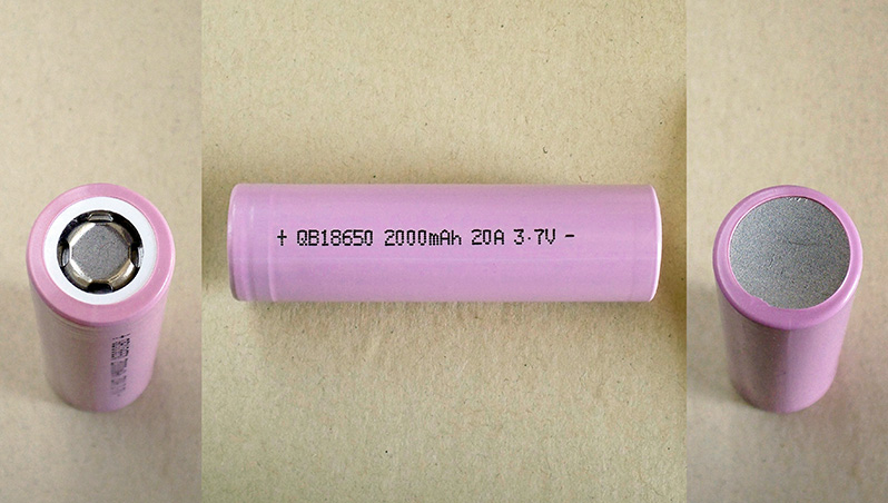 Queen Battery QB18650 2000mAh 20A 3.7V high drain Li-ion battery cell capacity test | Thunderheart Reviews