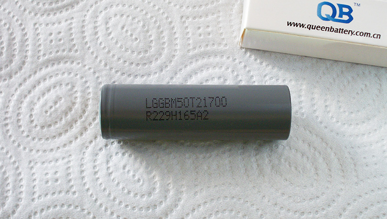 LG M50 M50T 21700 5000mAh Li-ion battery cell capacity test | Thunderheart Reviews