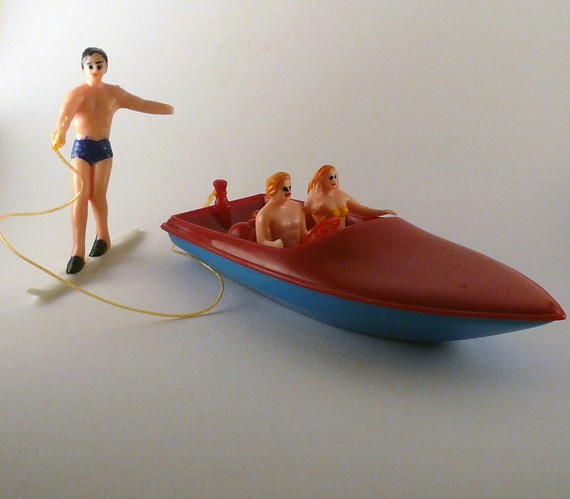 etsy toy waterskiing