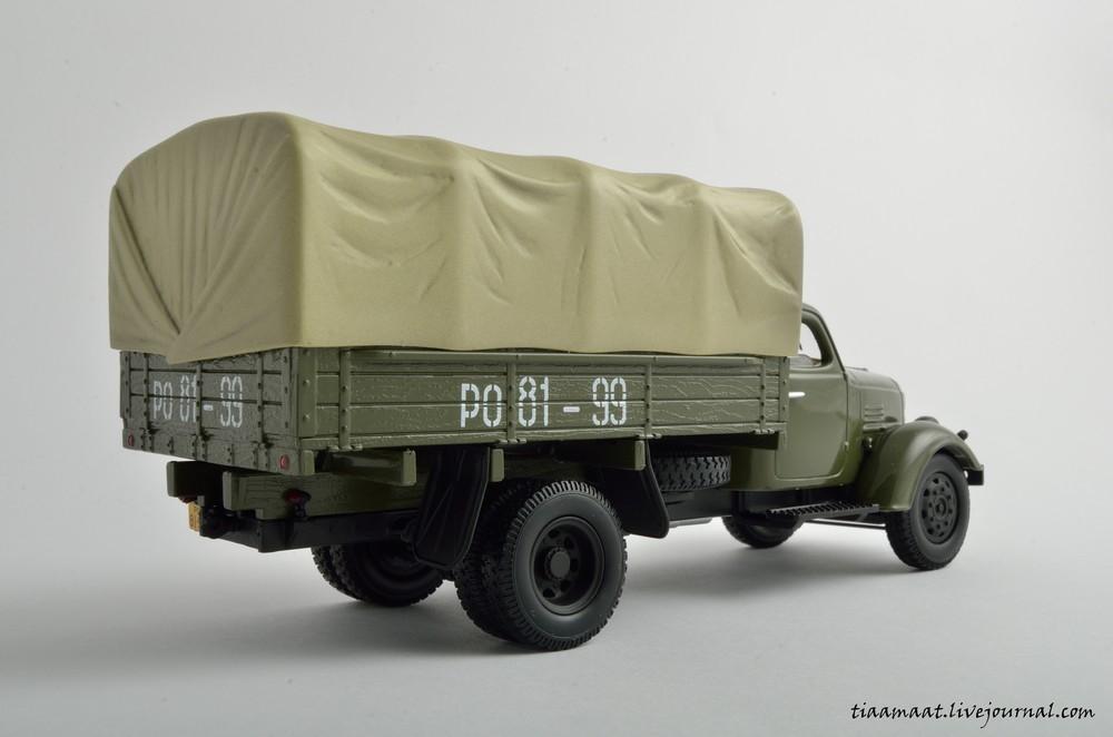 115001 ЗИС-150 бортовой с тентом 04