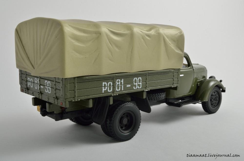 115001 ЗИС-150 бортовой с тентом 02