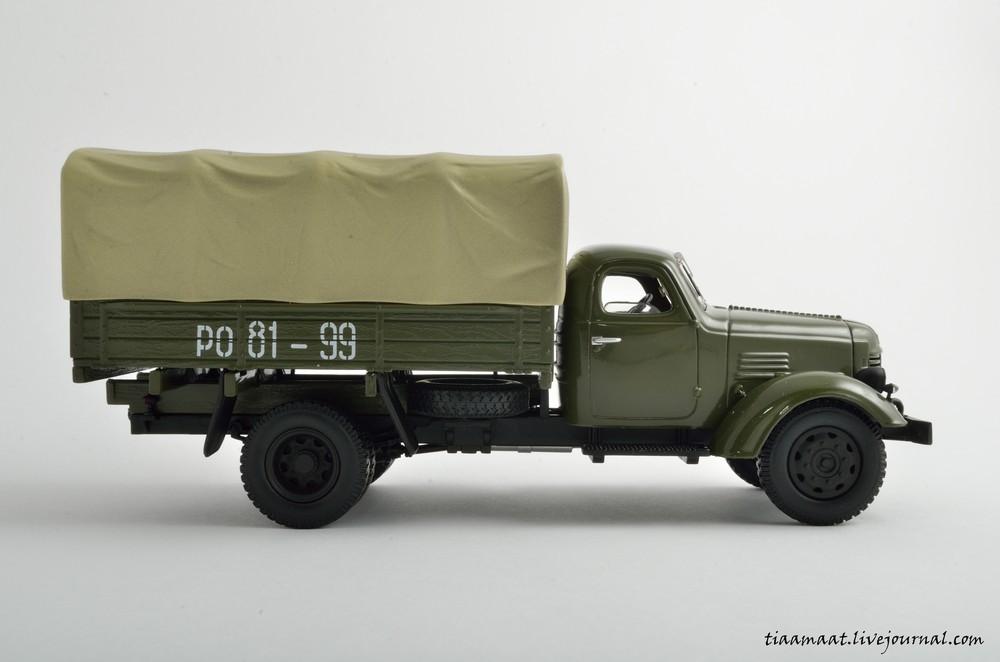 115001 ЗИС-150 бортовой с тентом 06