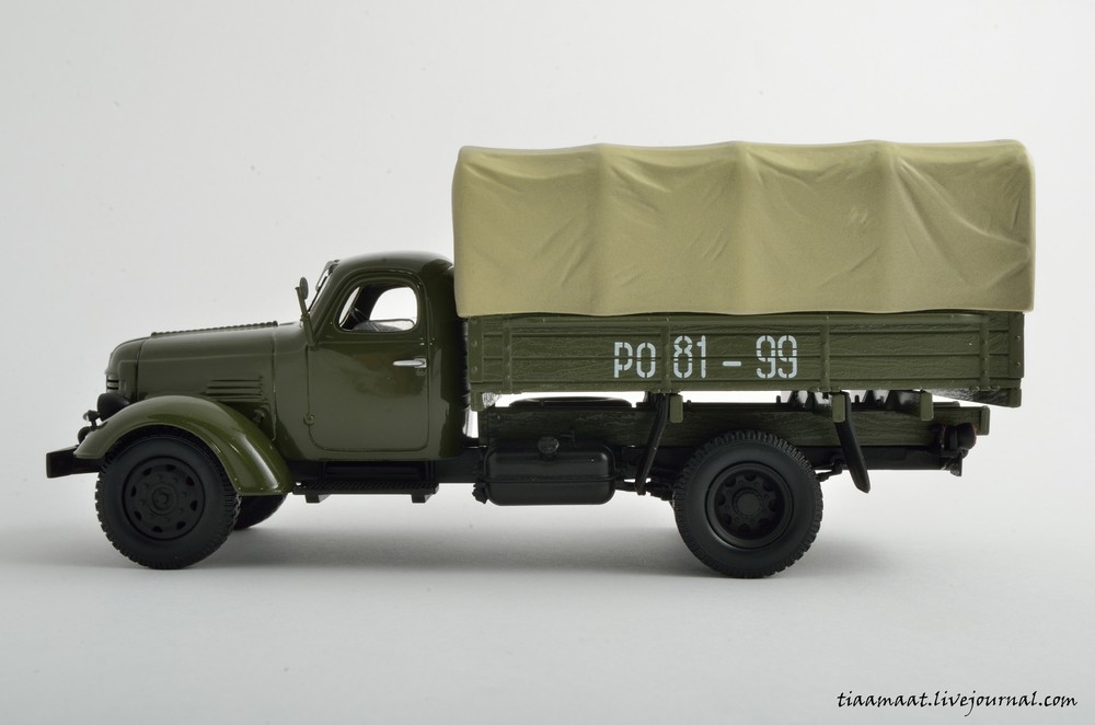 115001 ЗИС-150 бортовой с тентом 07