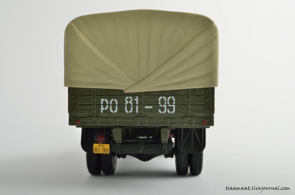 115001 ЗИС-150 бортовой с тентом 08