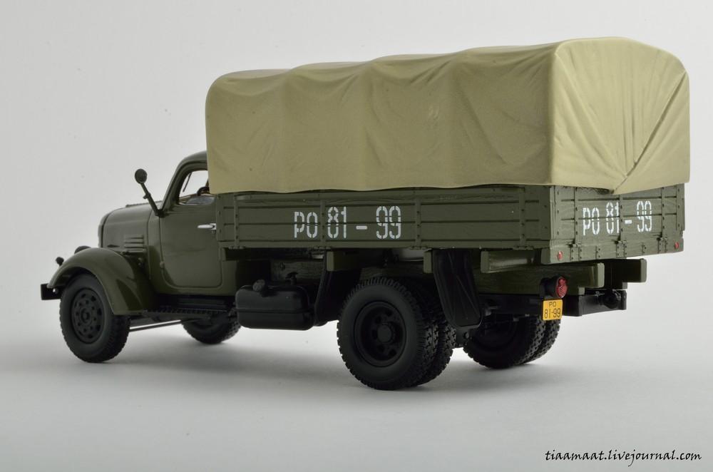 115001 ЗИС-150 бортовой с тентом 10