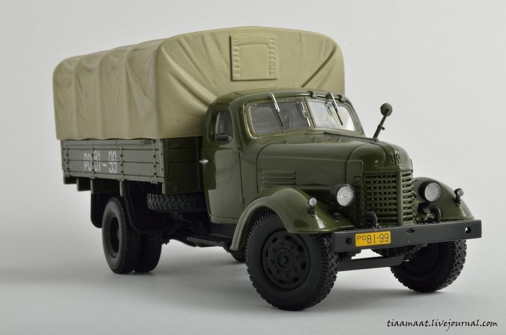 115001 ЗИС-150 бортовой с тентом 14