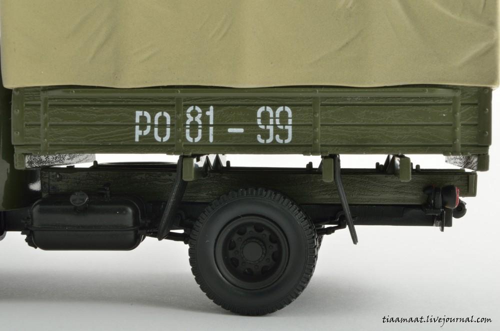 115001 ЗИС-150 бортовой с тентом 16