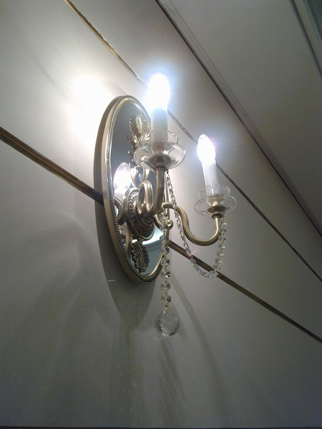 2 Grand Theatre Light on the wall