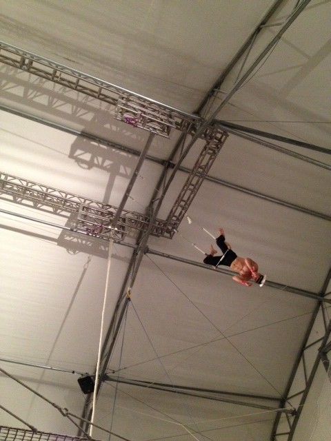 trapeze show may 2013