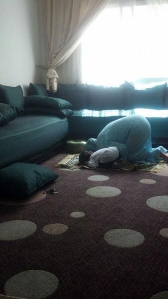 praying with souad in rabat aug 2014