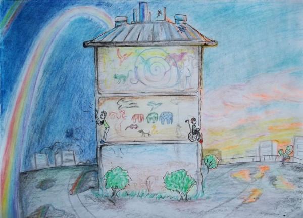 радуга над Домом--