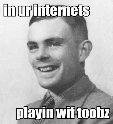 LOLtheorists : Alan Turing