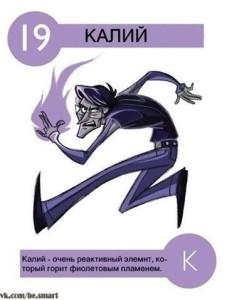 19 Калий