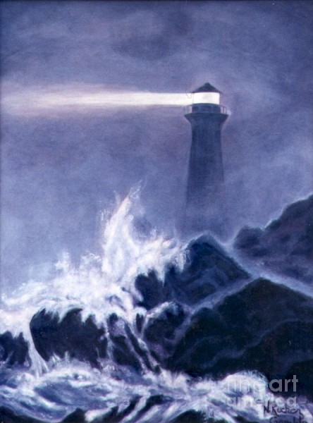 Lighthouse in the Dark by Nancy Rucker
