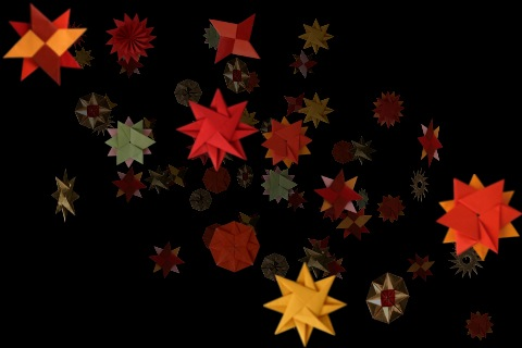 a hundred million suns - the images of inanana stars utulized by Snow Patrol