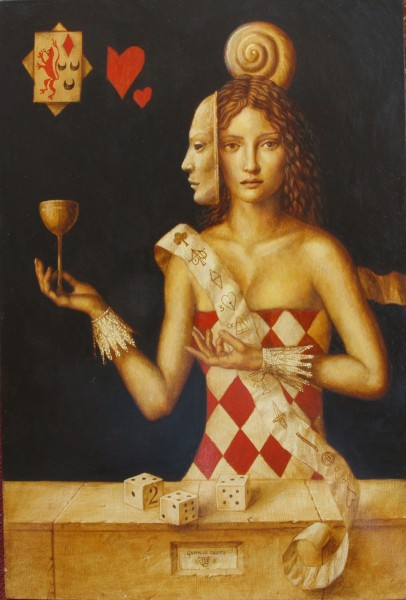 Queen of Cups 2 by Jake Baddeley