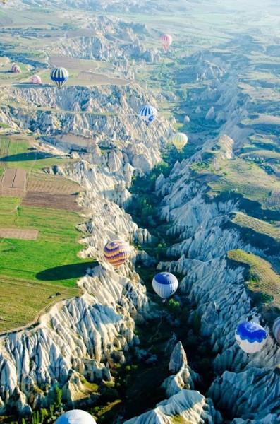 Hot Air Balloons - Cappodoccia