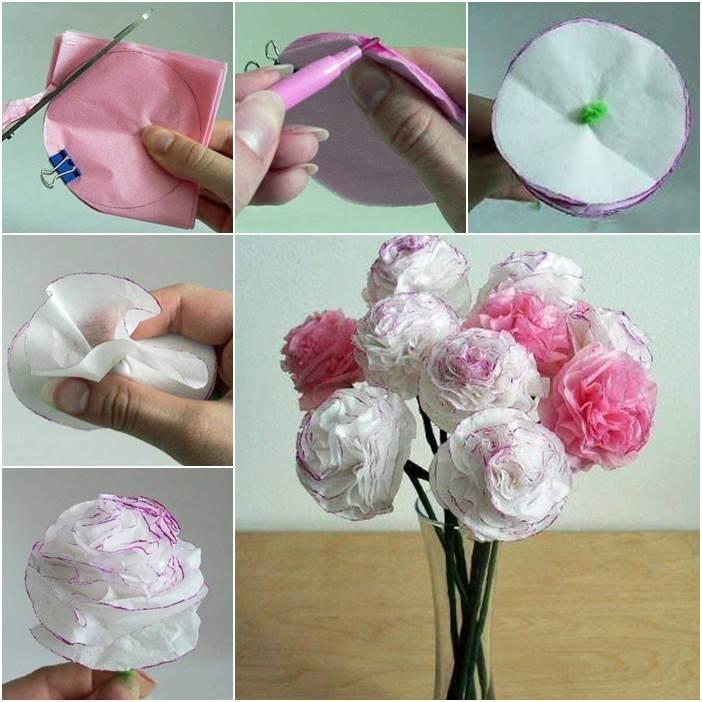 DIY-Beautiful-Tissue-Paper-Flowers