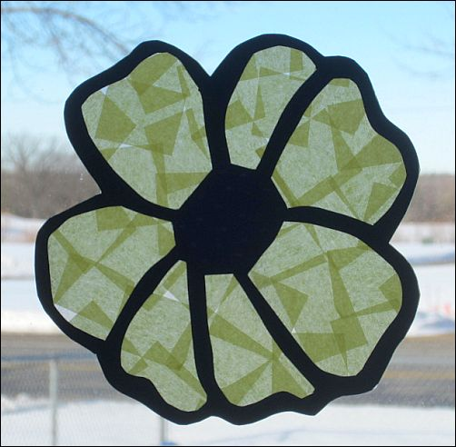 stained-glass-flower