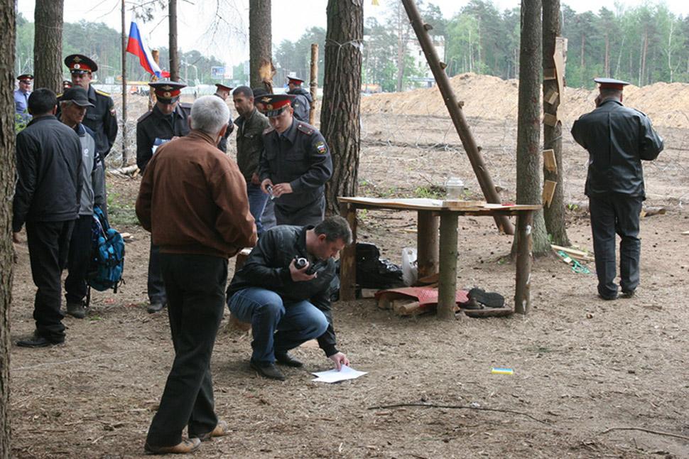 Разгон лагеря в #жуклес