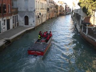 пожарные в Венеции